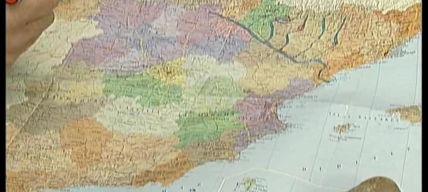 Wasserkrieg in Spanien