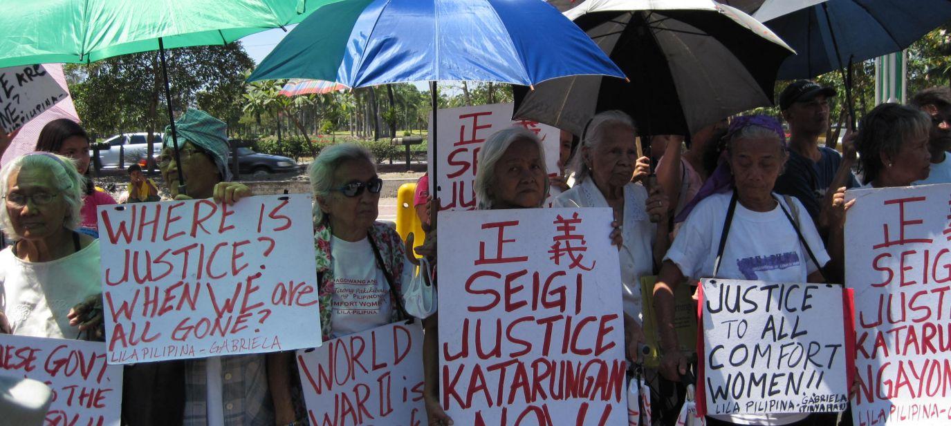 Vergessene Sex Sklaven - Trostfrauen auf den Philippinen