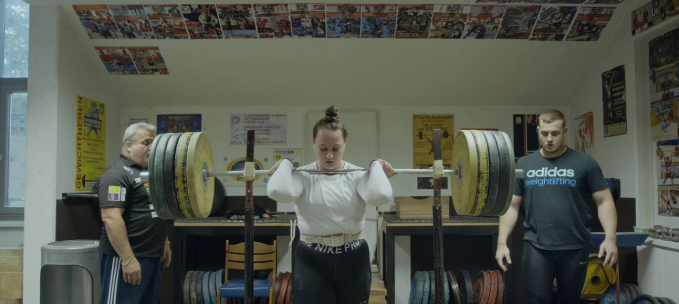 Die Gewichtheberin