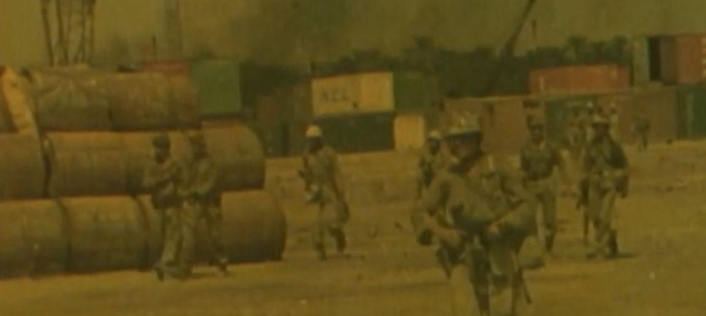 Z CCW footage  - IRAK vs IRAN  the first Gulf war