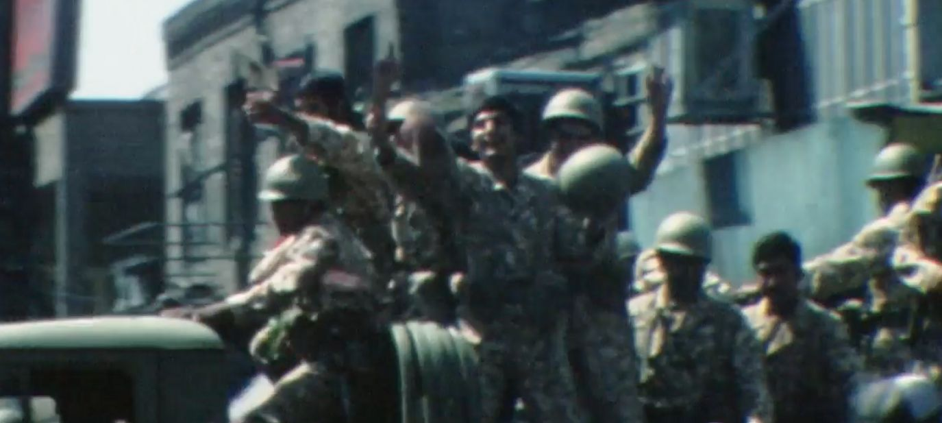 Z CCW footage - Allah uh Akbar u.a Filme Iran 1978.-80