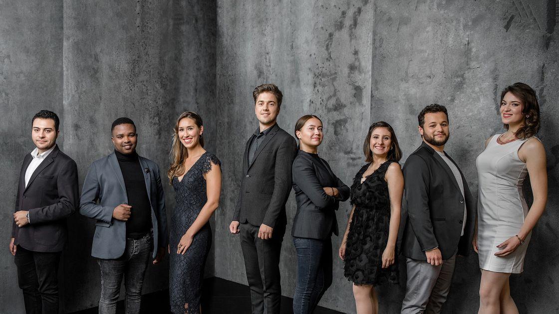 Opernstudio Jahrgang 2019/20 © Andreas Endermann