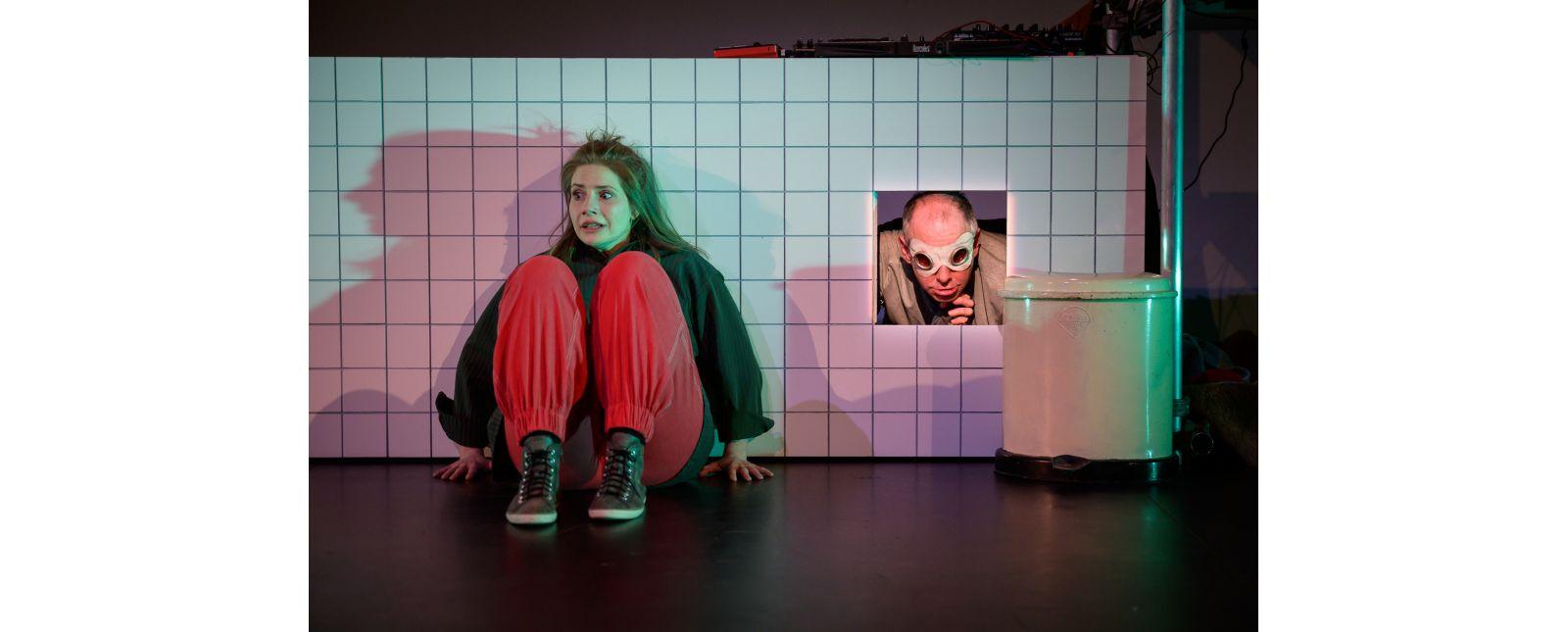WIE DER WAHNSINN MIR DIE WELT ERKLÄRTE // Clara Schulze-Wegener / Christoph Kopp // Foto: Marc Doradzillo