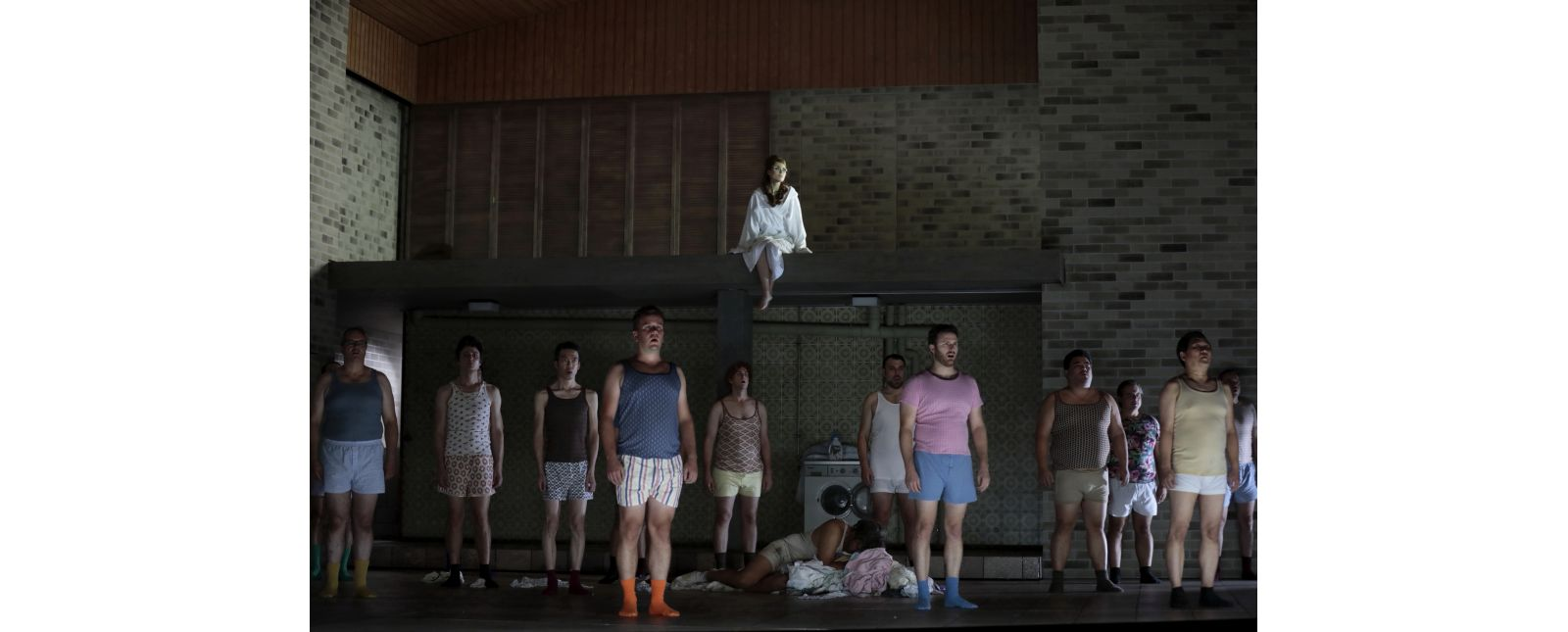 Falstaff // Samantha Gaul / Juan Orozco / Opernchor des Theater Freiburg // 2019 // Paul Leclaire