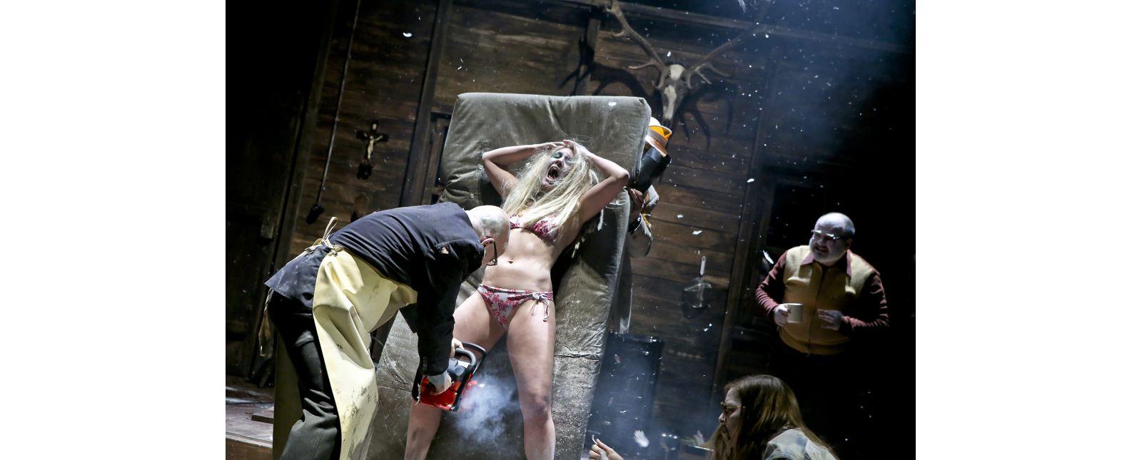 The Black Forest Chainsaw Opera // Holger Kunkel, Janna Horstmann, Chiel Van Berkel, Kirsten Pieters, Roberto Gionfriddo // Birgit Hupfeld // 2018