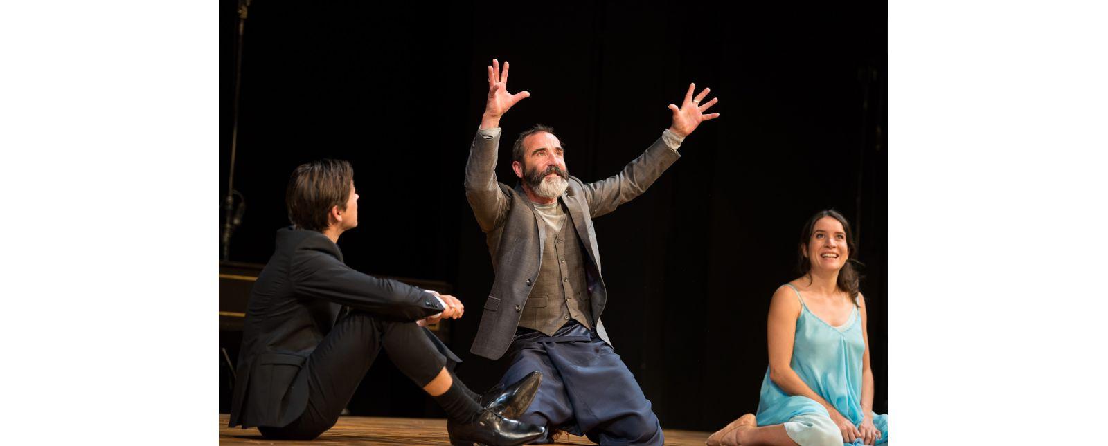 Das Nibelungenlied // Lukas Hupfeld // Henry Meyer // Laura Angelina Palacios //  2018 //  Foto: Marc Doradzillo
