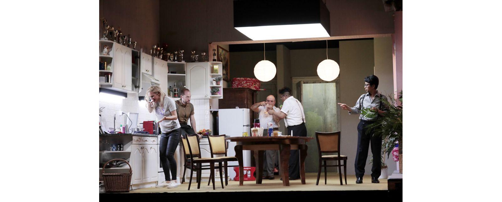 DIE 7 TODSÜNDEN & MOTHERLAND // Nora Buzalka / John Carpenter / Roberto Gionfriddo / Junbum Lee / Jin Seok Lee // 2020 // Paul Leclaire