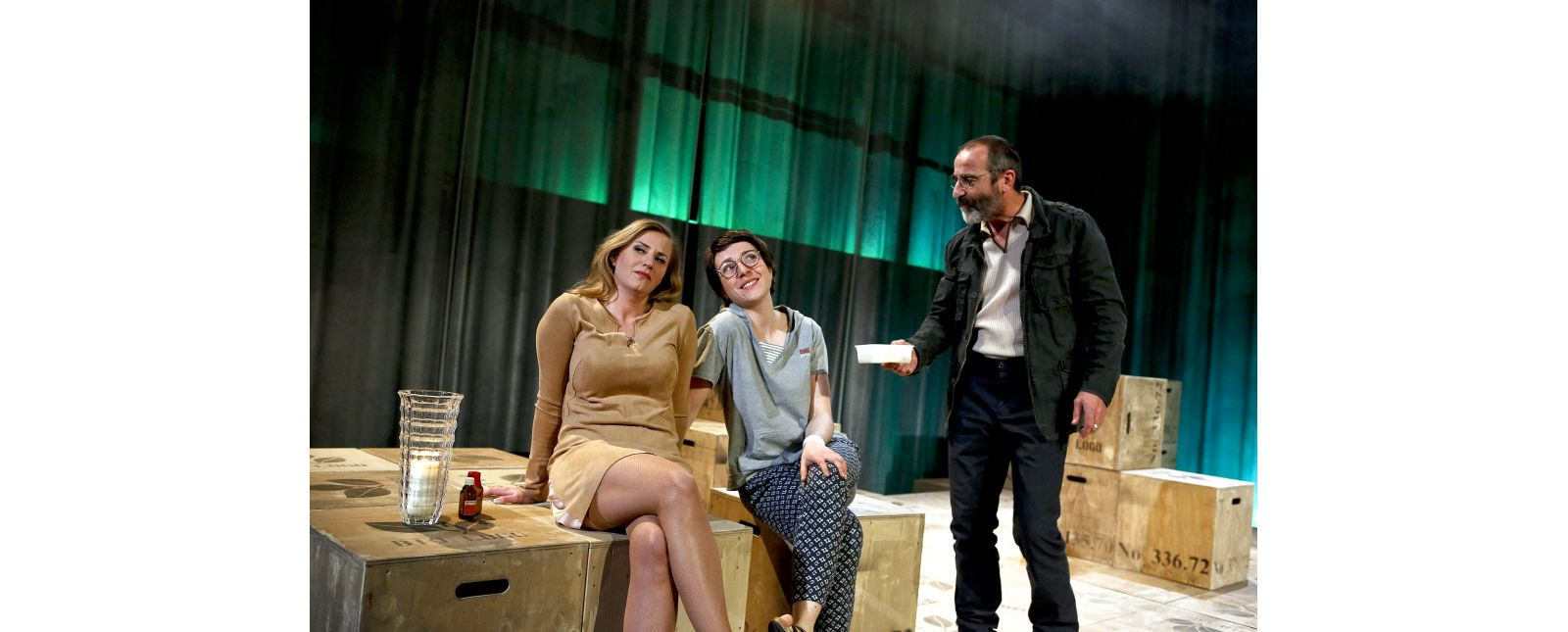 Onkel Wanja // Marieke Kregel // Rosa Thormeyer // Henry Meyer //  2019 // Foto: Birgit Hupfeld