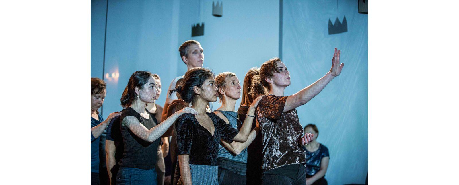 Die Krone an meiner Wand // Ensemble // 2017 // Foto: Britt Schilling