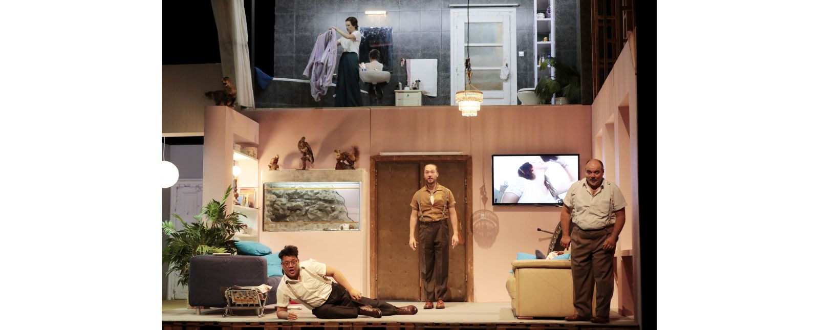 DIE 7 TODSÜNDEN & MOTHERLAND // Junbum Lee / Inga Schäfer / John Carpenter / Roberto Gionfriddo // 2020 // Paul Leclaire
