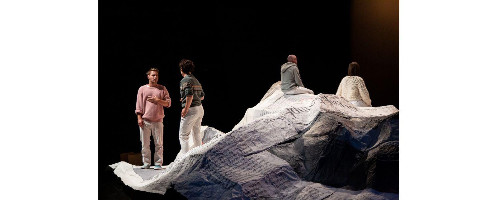 NUR DAS BESTE // Martin Hohner / Elisabeth Kopp / Tim Al-Windawe / Iris Becher // 2020 // Laura Nickel