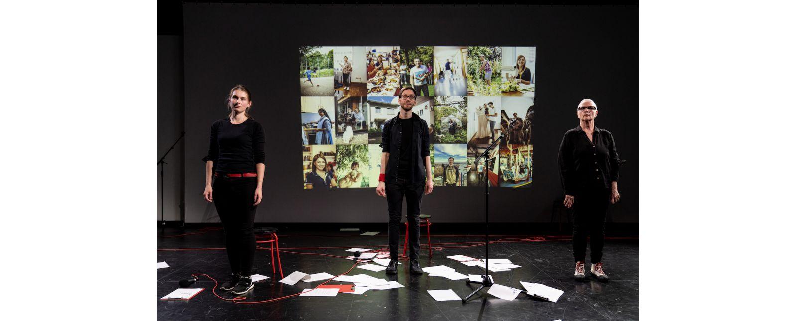 AUF KLINGEL // Hannah Ganter / Michael Kaiser / Margarethe Mehring-Fuchs // 2021 // Foto: Britt Schilling