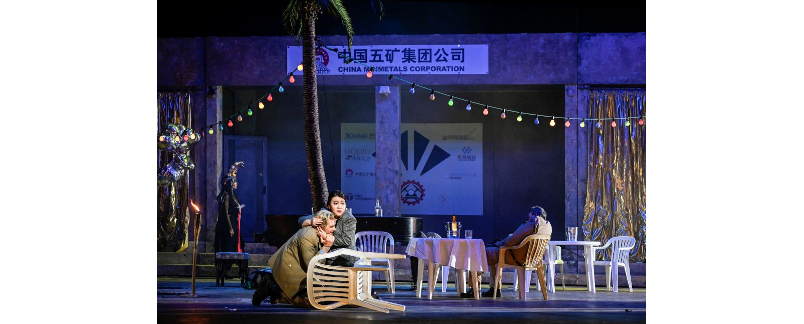 HULDA // Morenike Fadayomi // Joshua Kohl // Irina Jae Eun Park // Opernchor // 2019 // Tanja Dorendorf // T+T Fotografie