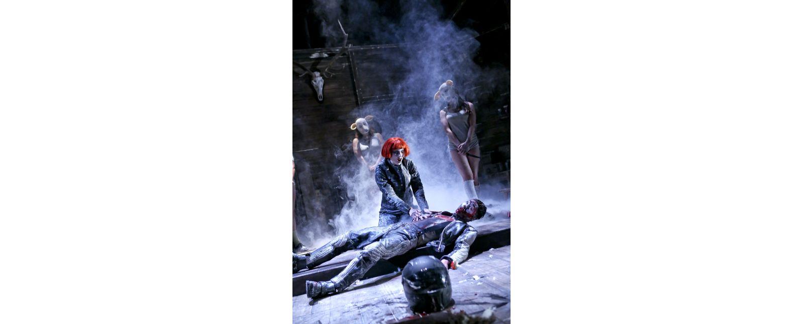 The Black Forest Chainsaw Opera // Inga Schäfer, Lukas Hupfeld // Birgit Hupfeld / 2018