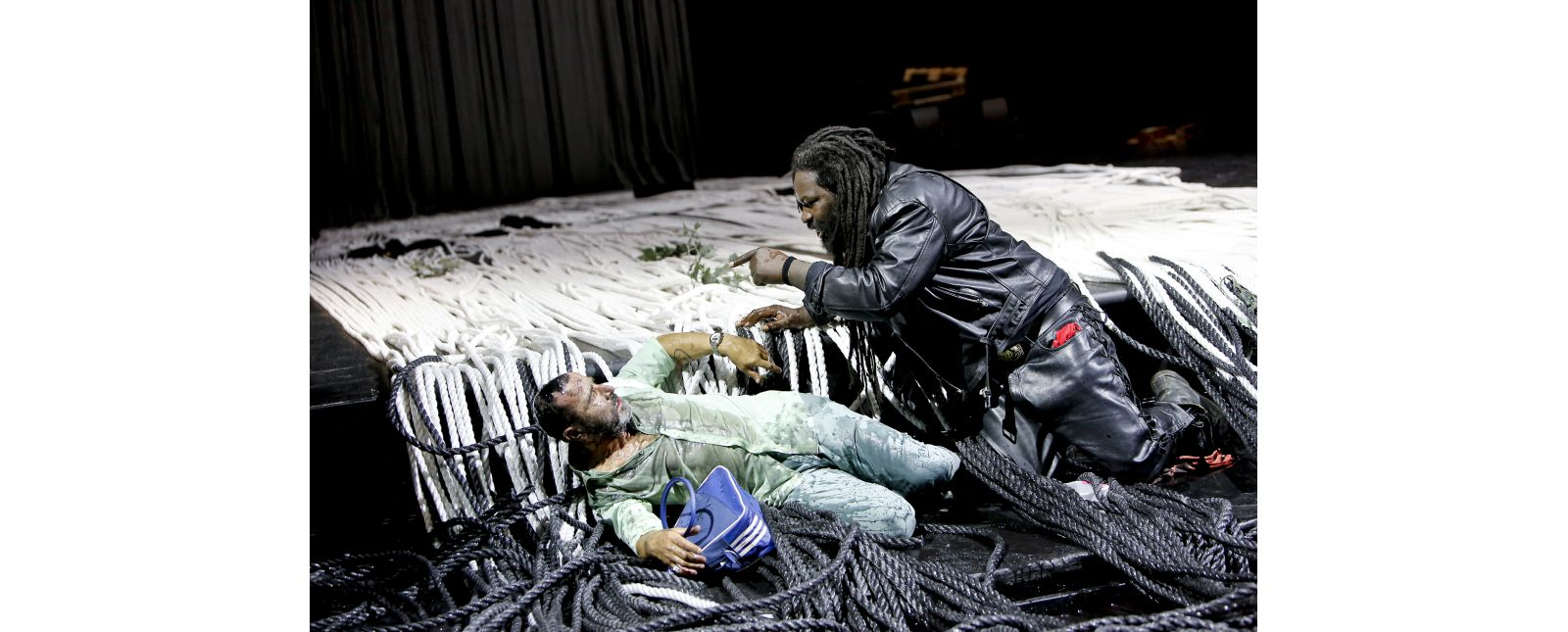 Crudeland // Henry Meyer, Komi Mizrajim Togbonou // 2017 // Birgit Hupfeld
