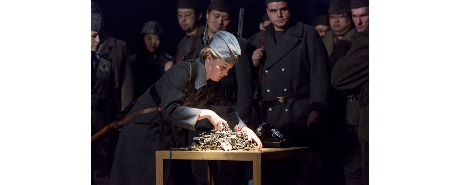 Drei Winter // Janna Horstmann, Opernchor des Theater Freiburg // Rainer Muranyi // 2018