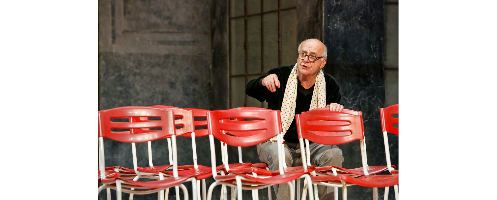 Der Theatermacher // Hartmut Stanke // 2017 // Birgit Hupfeld