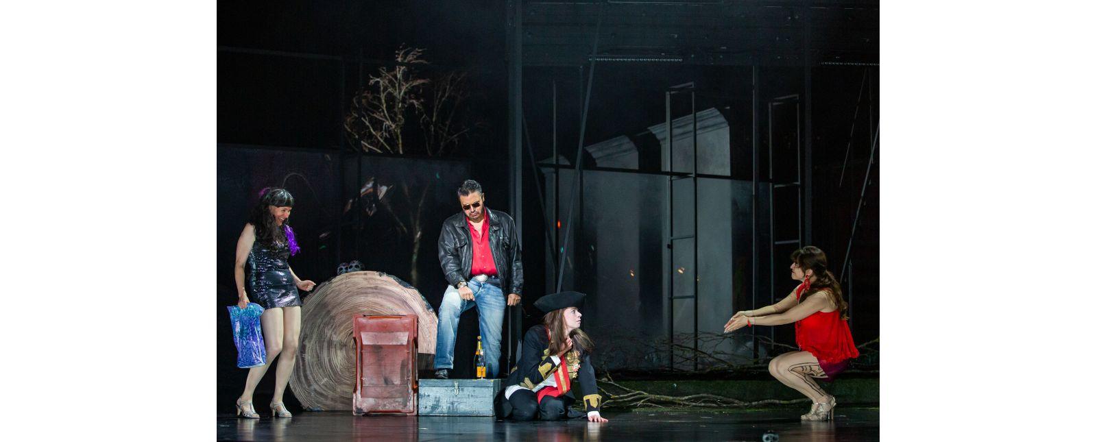 DIDO UND AENEAS // Anja Steinert / Juan Orozco / Janina Staub / Yulianna Vaydner // Foto: Laura Nickel