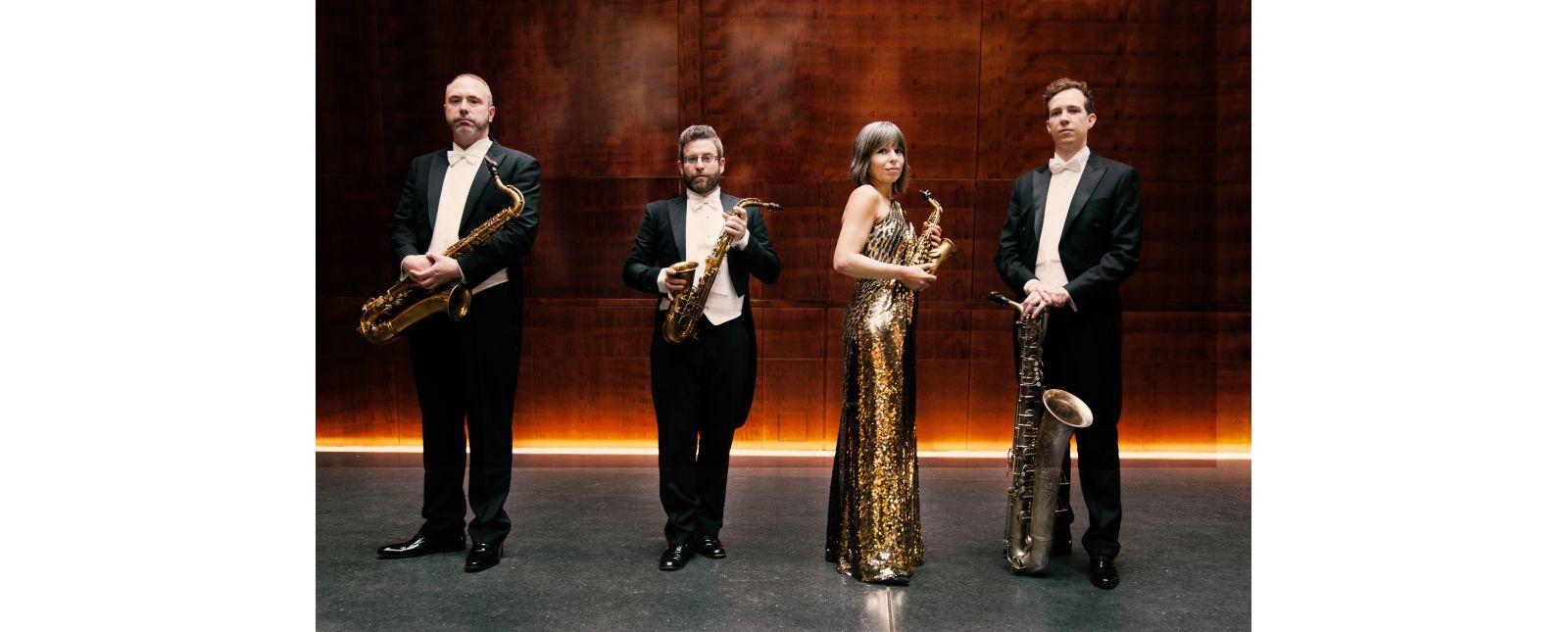 Raschèr Saxophone-Quartett //  Foto: Felix Broede