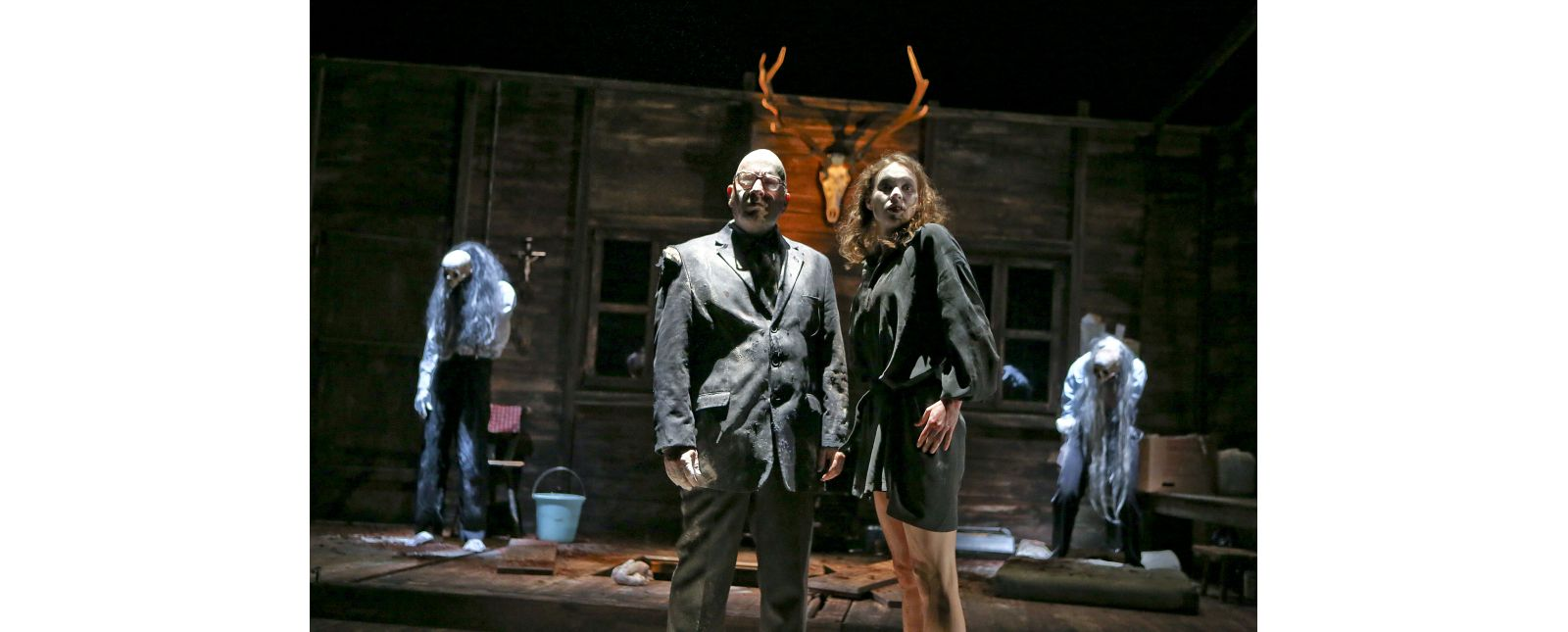 The Black Forest Chainsaw Opera // Lukas Hupfeld, Holger Kunkel, Inga Schäfer, Janna Horstmann // Birgit Hupfeld / 2018