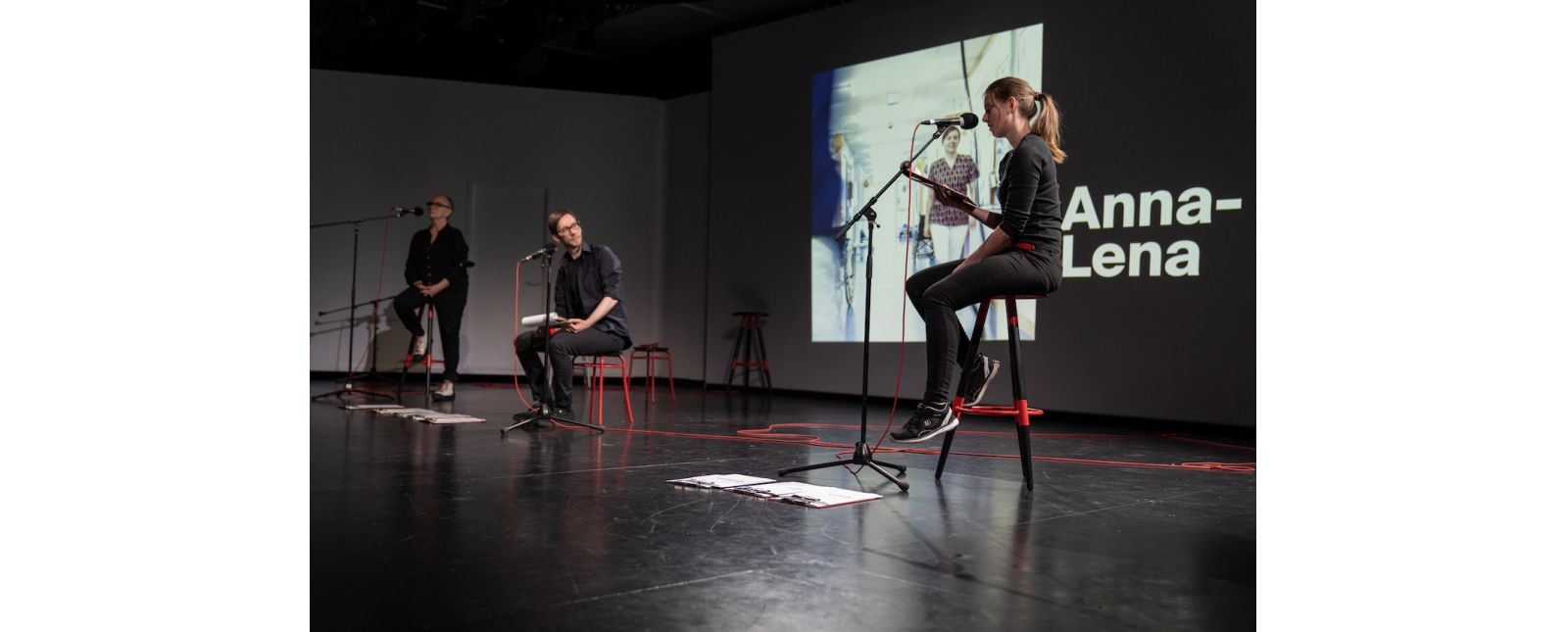 AUF KLINGEL // Margarethe Mehring-Fuchs / Michael Kaiser / Hannah Ganter // 2021 // Foto: Britt Schilling