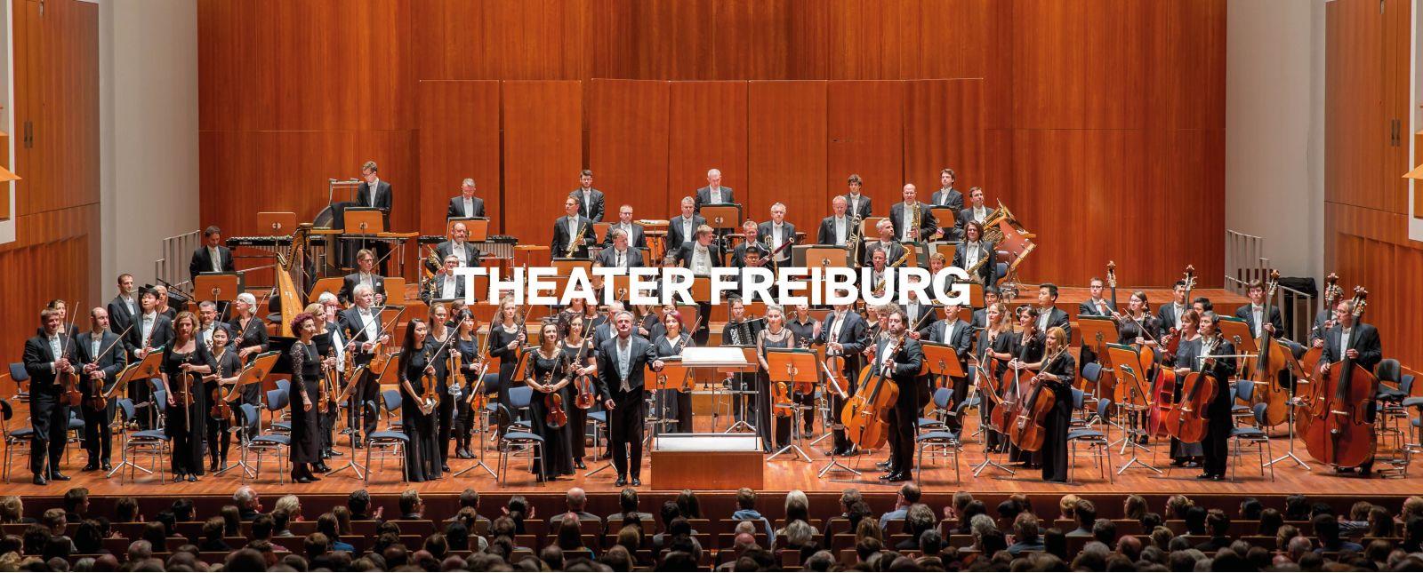 Philharmonisches Orchester Freiburg //  Foto: Britt Schilling