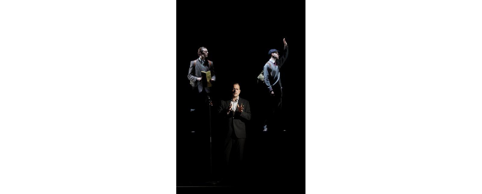 SCHAUINSLAND - The Misfortune of the English // Fabian Gerhardt / Statisterie des Theater Freiburg // Foto: Paul Leclaire