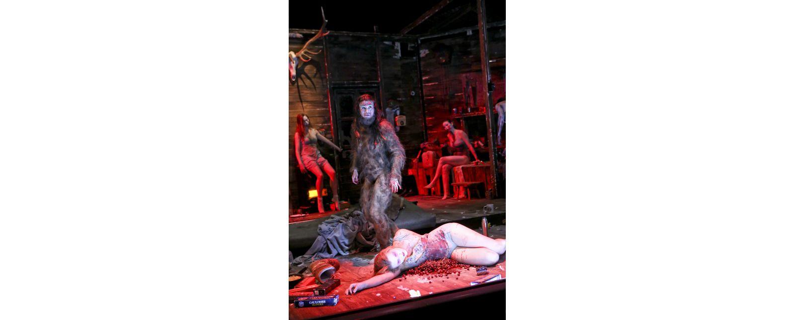 The Black Forest Chainsaw Opera // Kirsten Pieters, Tine Van den Wyngaert, Janna Horstmann, Inga Schäfer // Birgit Hupfeld // 2018