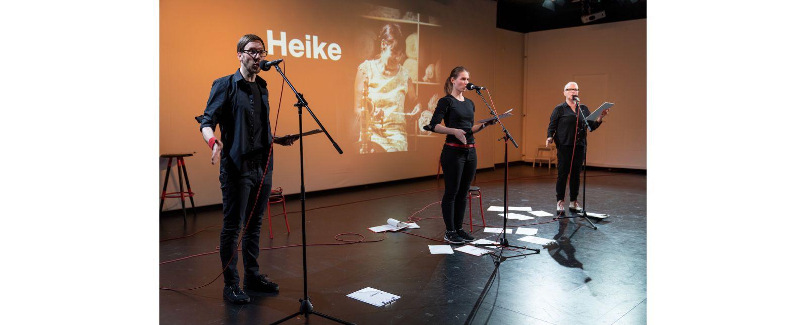 AUF KLINGEL // Michael Kaiser / Hannah Ganter / Margarethe Mehring-Fuchs // 2021 // Foto: Britt Schilling
