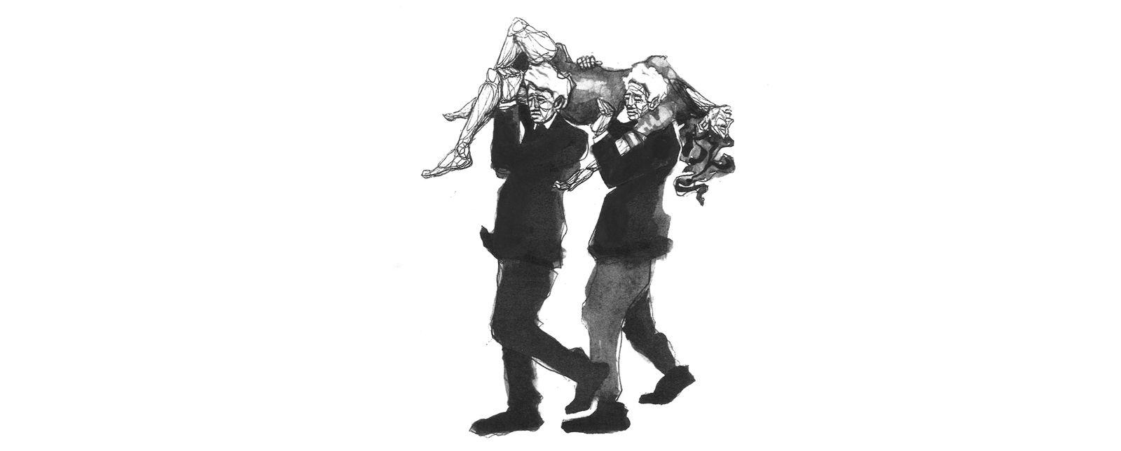 Le Sacre du Printemps //  2018 // Illustration: Michael Genter