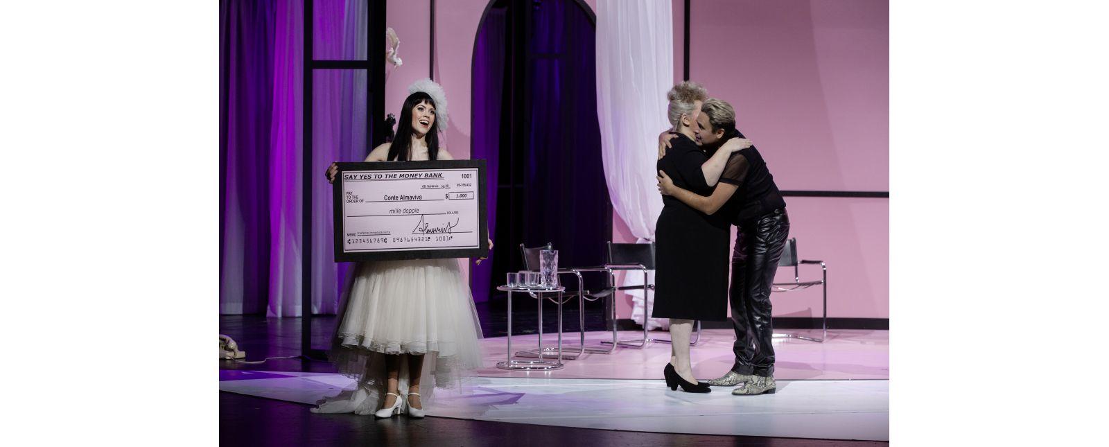 Die Hochzeit des Figaro // Samantha Gaul / Anja Jung / Juan Orozco // 2020 // Rainer Muranyi