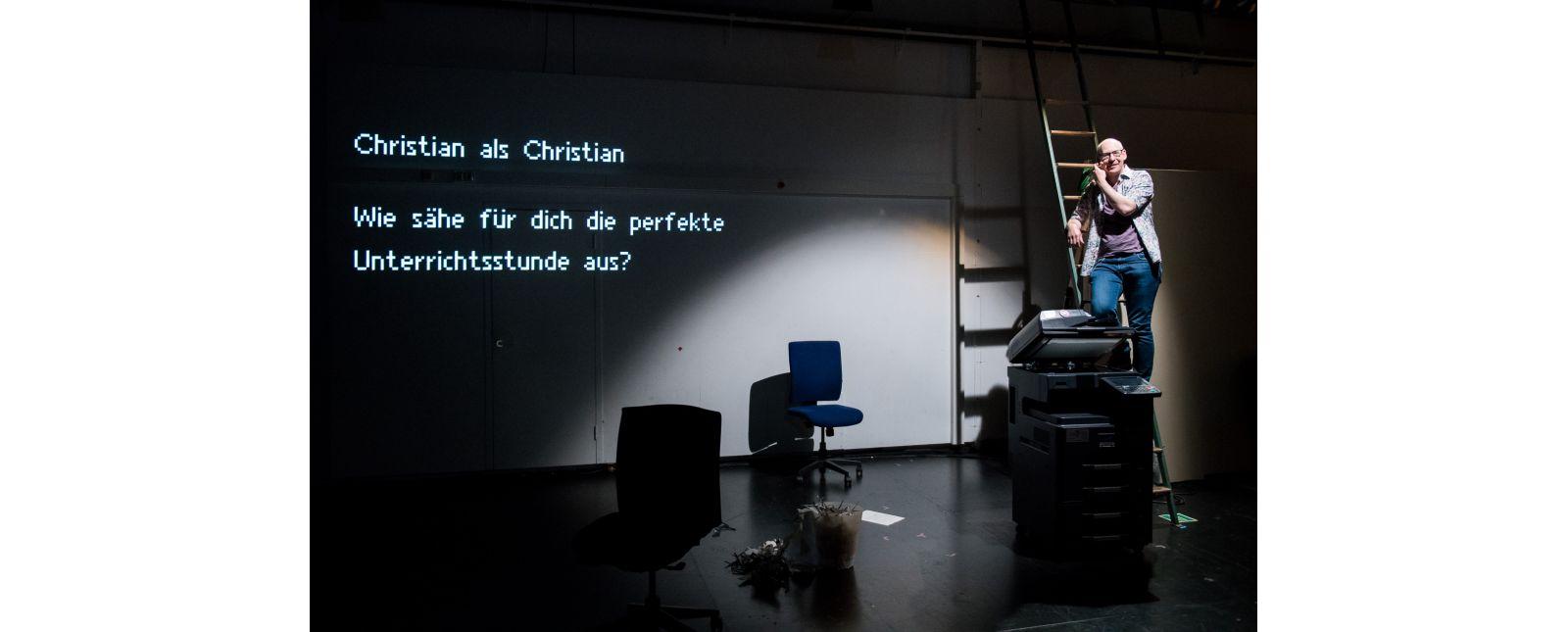 Das Leben des Anderen // Christian Heigel // 2019 // Foto: Marc Doradzillo