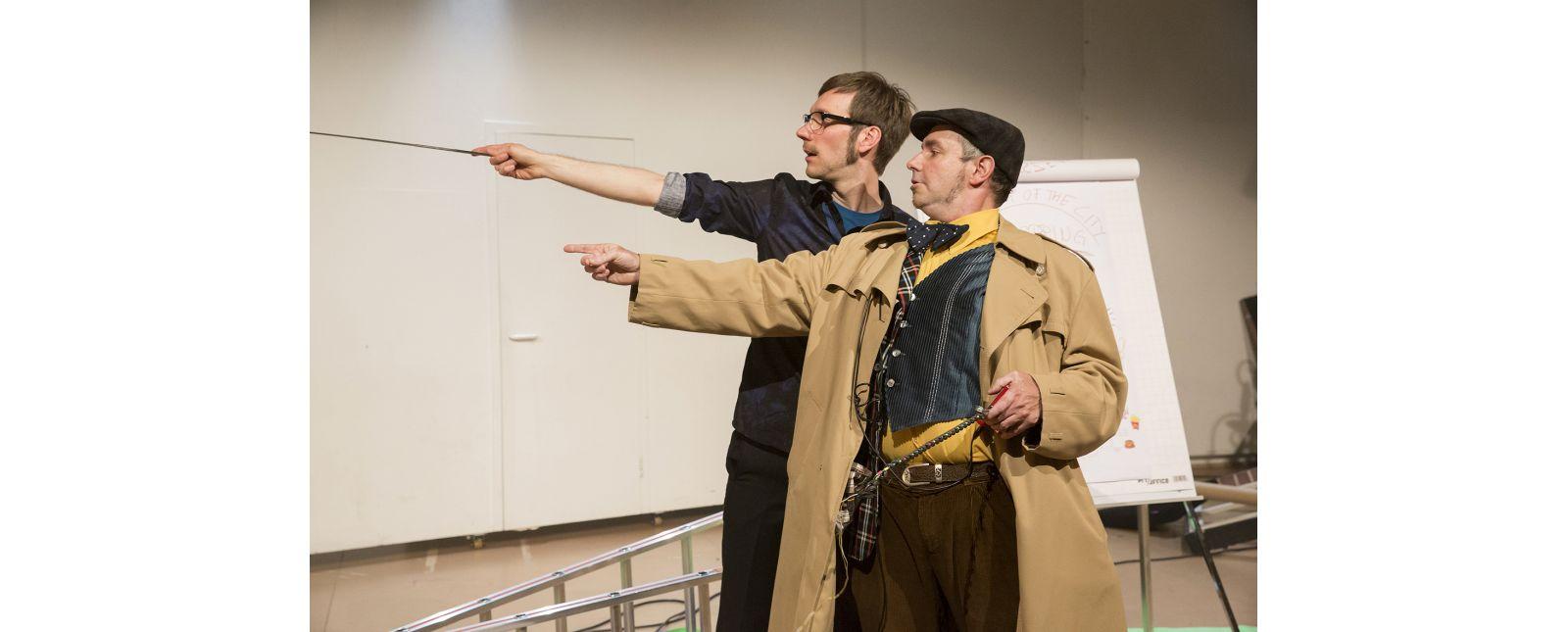 Geisterjagd durchs Theater // Michael Kaiser // Christoph Kopp // 2015 // Rainer Muranyi