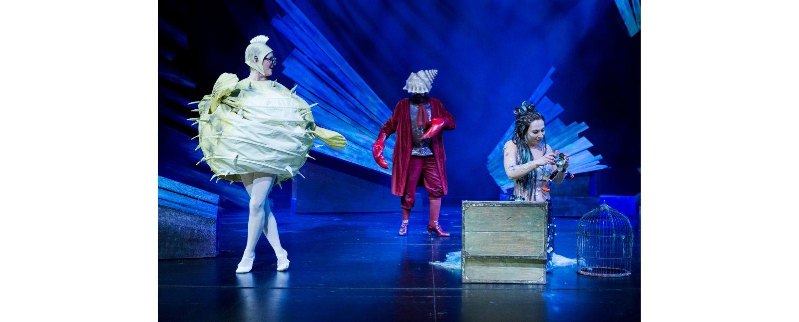 Die kleine Meerjungfrau // Marieke Kregel // Lou Elias Bihler // Lara Haucke // 2018 // Rainer Muranyi