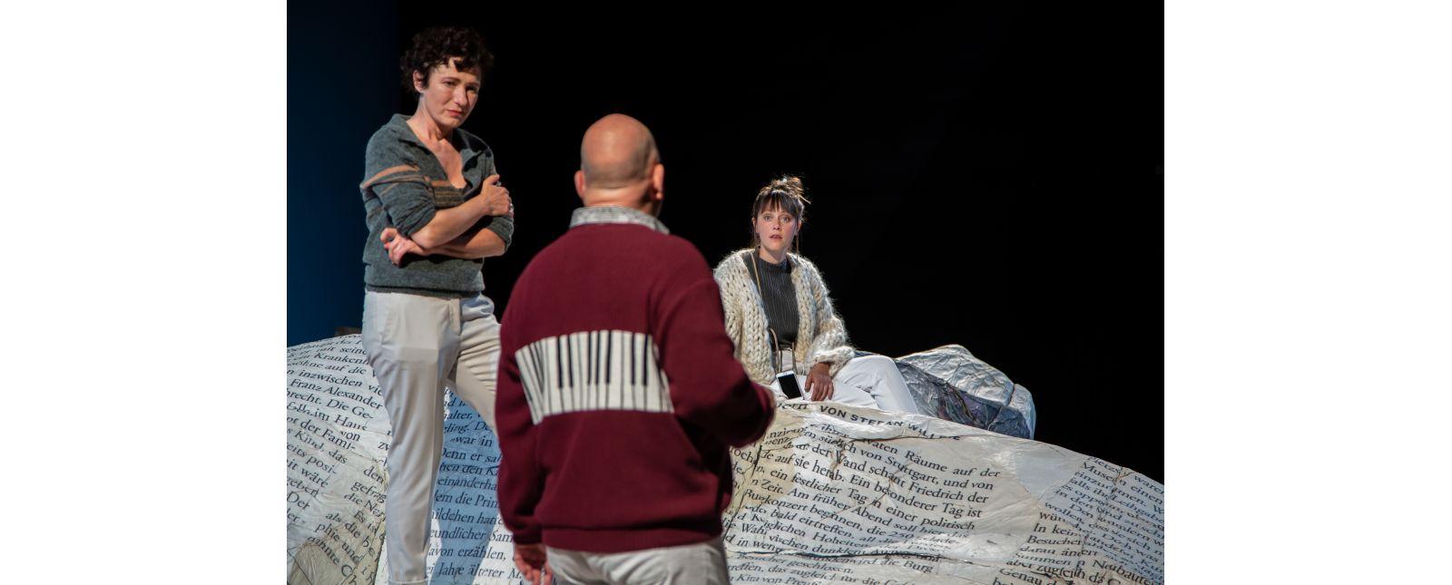 NUR DAS BESTE // Elisabeth Kopp / Holger Kunkel / Iris Becher // 2020 // Laura Nickel