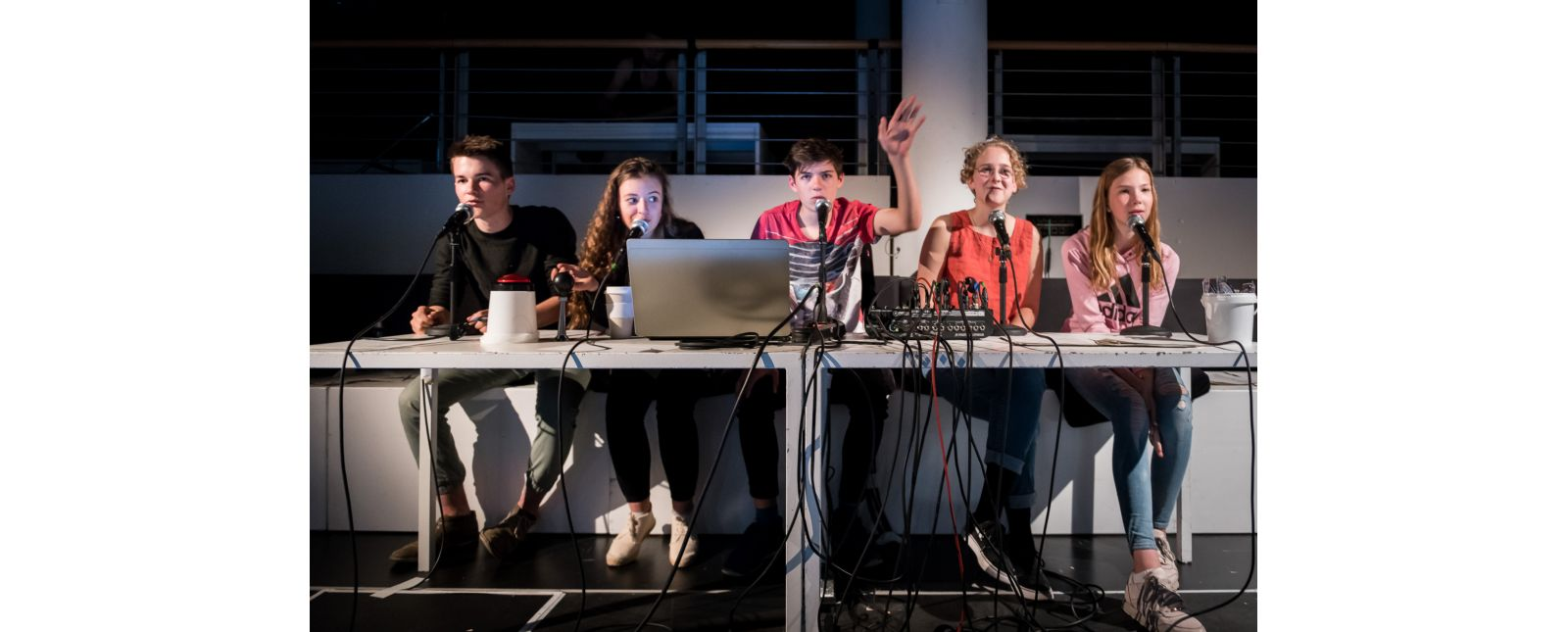Das Leben des Anderen // Timon Roosen / Malika Scheller / Noah Menzinger / Teresa Jägle / Charlotte Wunderlich // 2019 // Foto: Marc Doradzillo