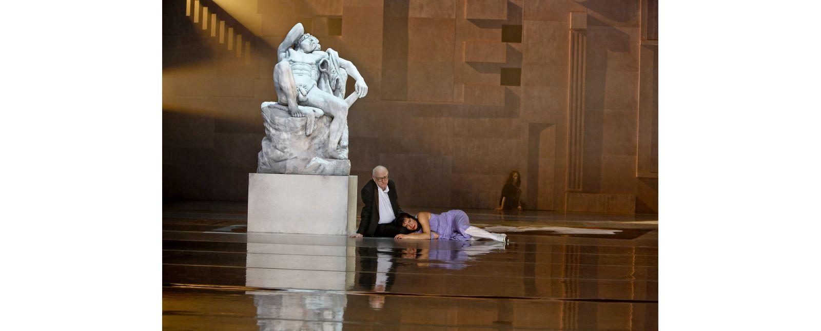Der Widerspenstigen Zähmung //  Hartmut Stanke / Laura Angelina Palacios / Anja Schweitzer // 2020 // Birgit Hupfeld