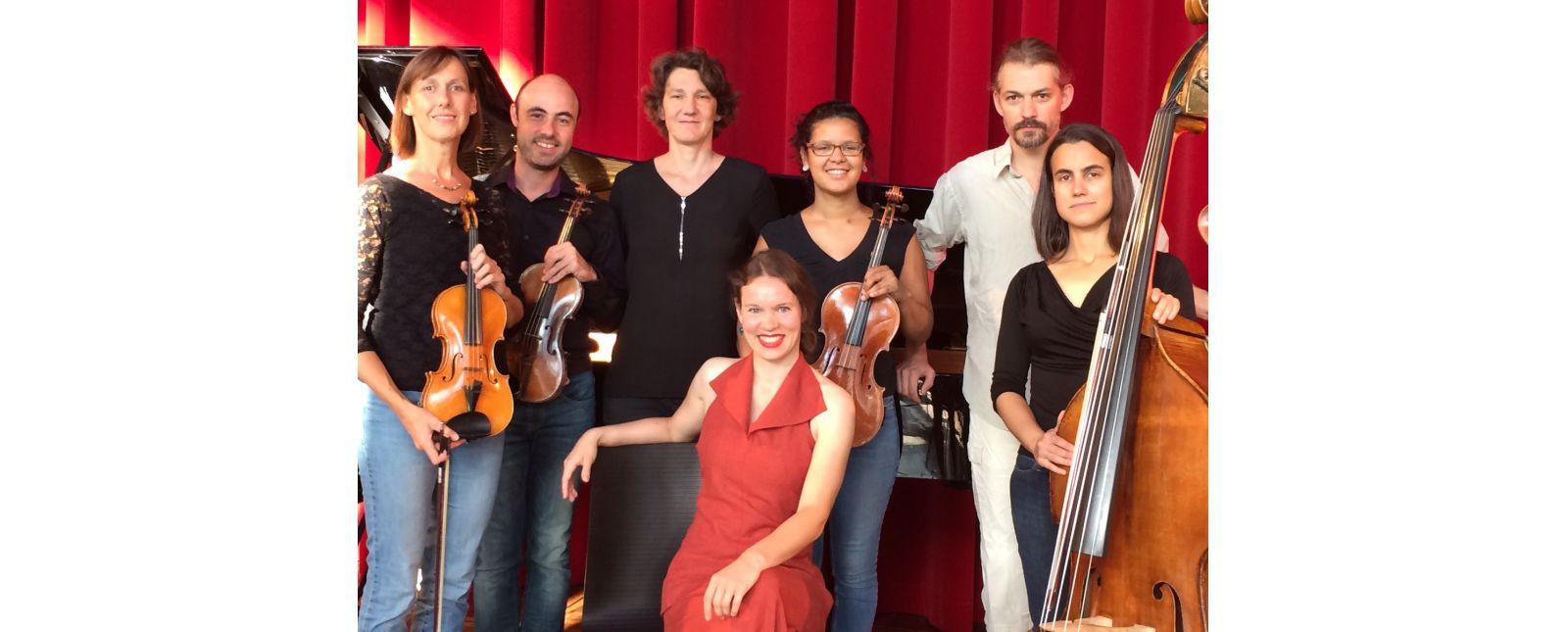 Ensemble des Kammerkonzerts //  Theater Freiburg / 2018
