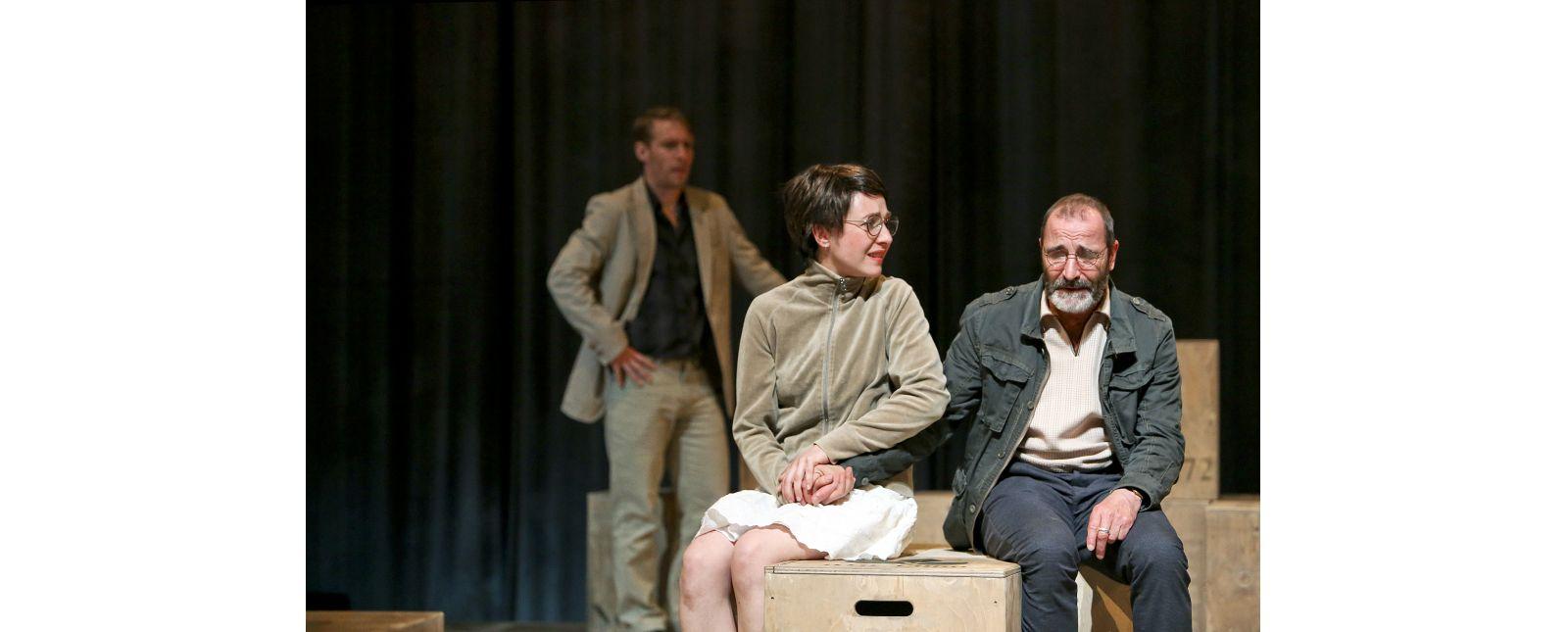 Onkel Wanja // Martin Hohner // Rosa Thormeyer // Henry Meyer //  2019 // Foto: Birgit Hupfeld
