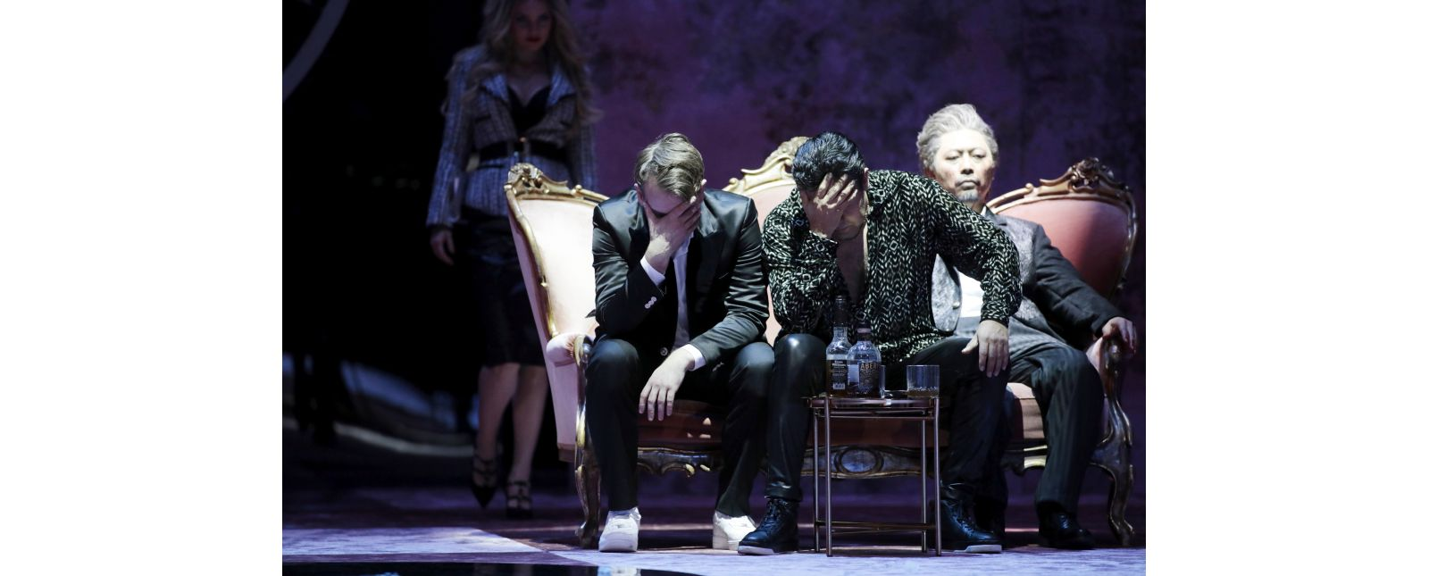 Don Giovanni // Inga Schäfer // Michael Borth // Juan Orozco // Jin Seok Lee //  2019 // Foto: Paul Leclaire