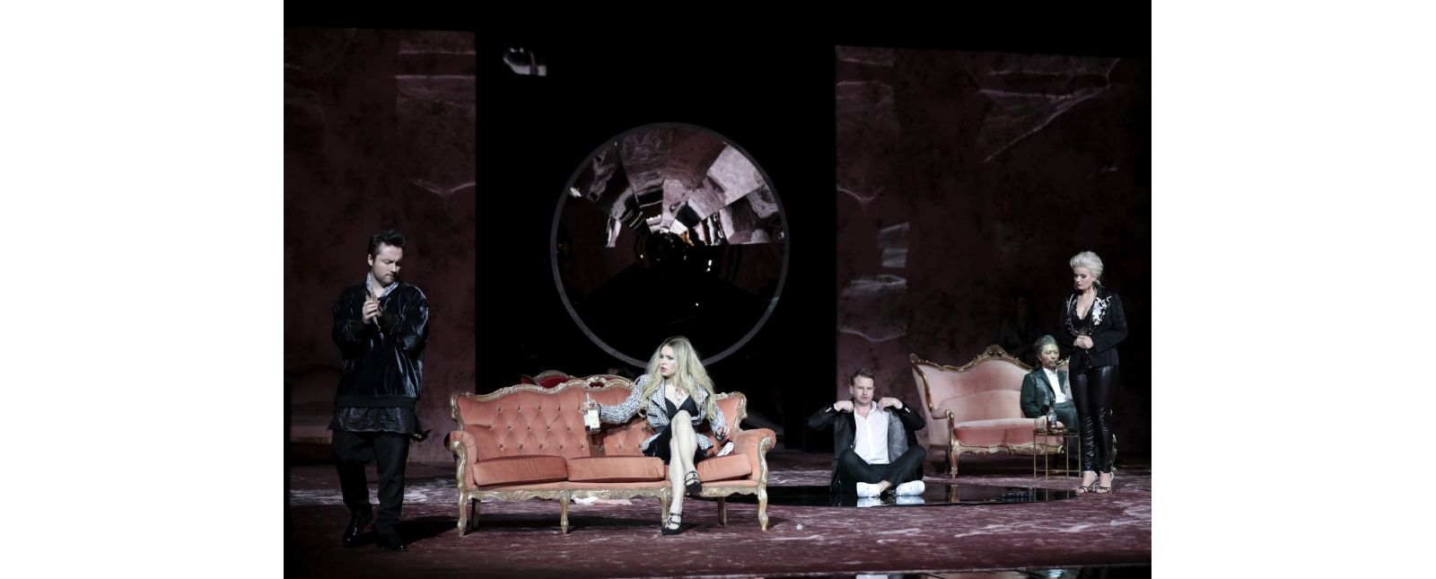Don Giovanni // Matteo Macchioni // Inga Schäfer // Michael Borth // Jin Seok Lee // Sarah Traubel //  2019 // Foto: Paul Leclaire