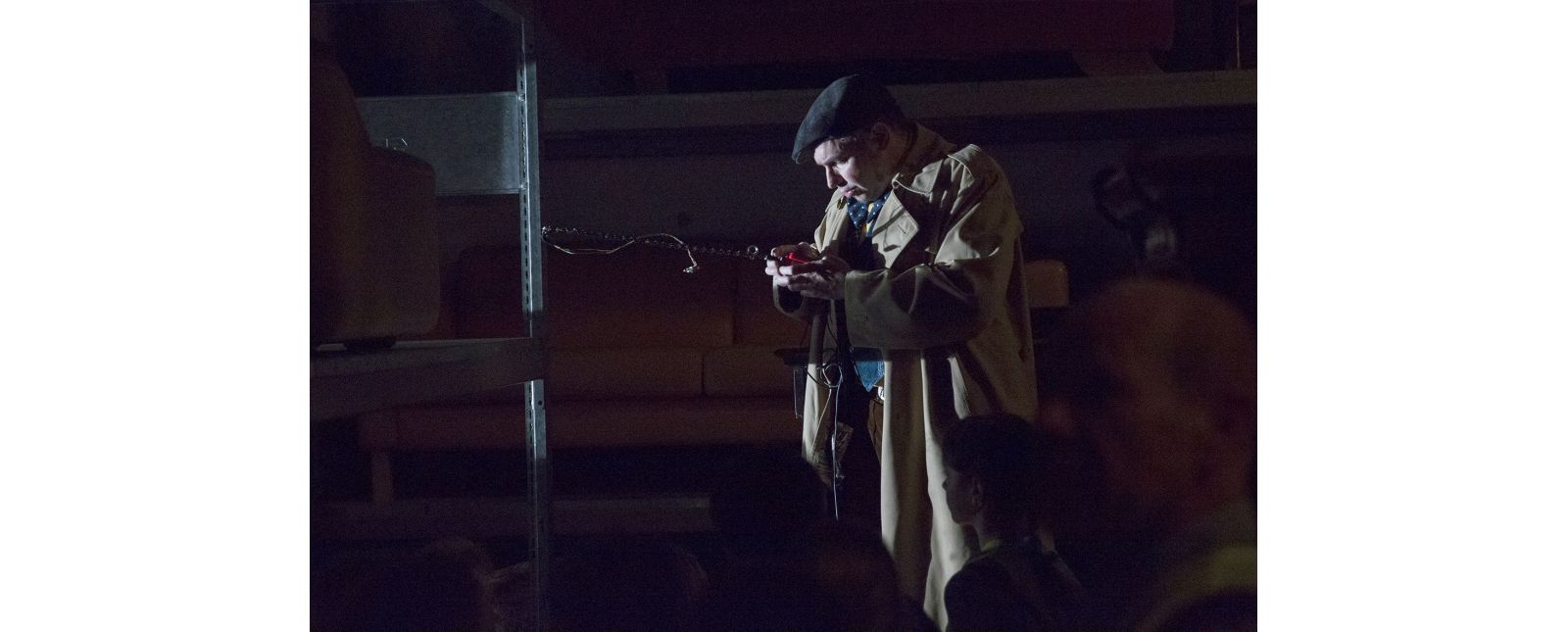 Geisterjagd durchs Theater // Christoph Kopp // 2015 // Rainer Muranyi