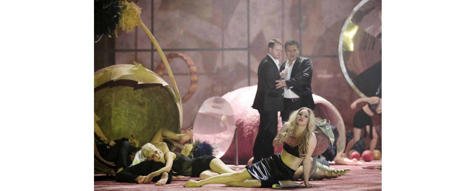 Don Giovanni // Lea Birkhoff // Michael Borth // Juan Orozco // Inga Schäfer // Opernchor //  2019 // Foto: Paul Leclaire