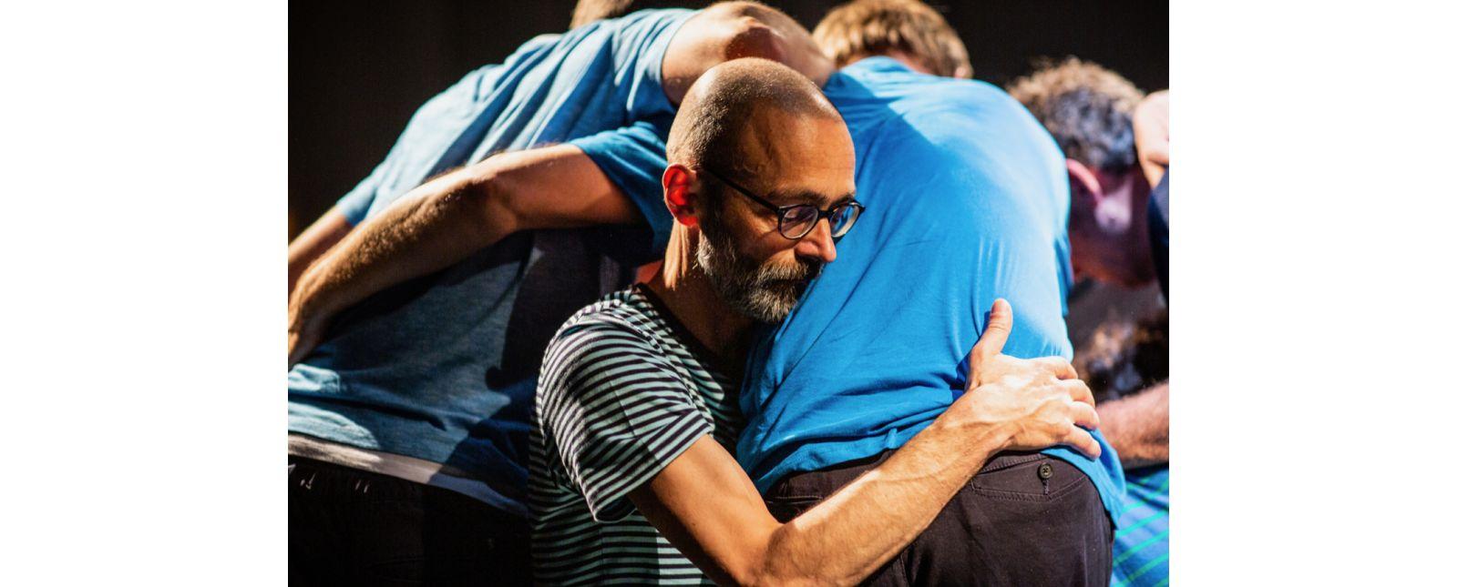 Grenzland //  Marcus Weiland / Ensemble // 2019 // Foto: Britt Schilling