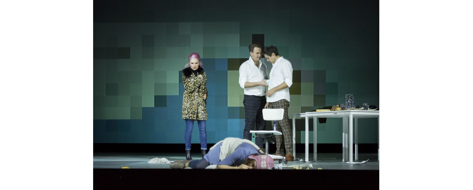 La Bohème // Katharina Ruckgaber // Solen Mainguené // Michael Borth // Harold Meers // 2018 // Rainer Muranyi