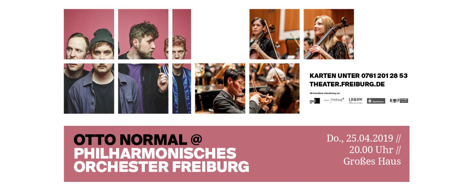 Otto Normal @ Philharmonisches Orchester Freiburg //  2019