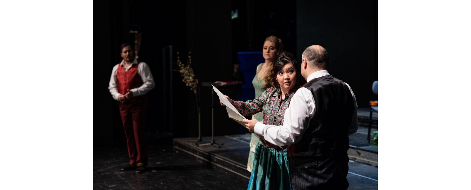 Kosmos Korngold // Jeff Gwaltney / Arminia Friebe / Irina Jae-Eun Park / Roberto Gionfriddo // 2020 // Britt Schilling