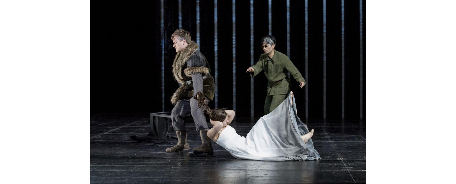 Pelléas et Mélisande // Georg Festl // Katharina Ruckgaber // Jin Seok Lee //  2019 // Foto: Rainer Muranyi
