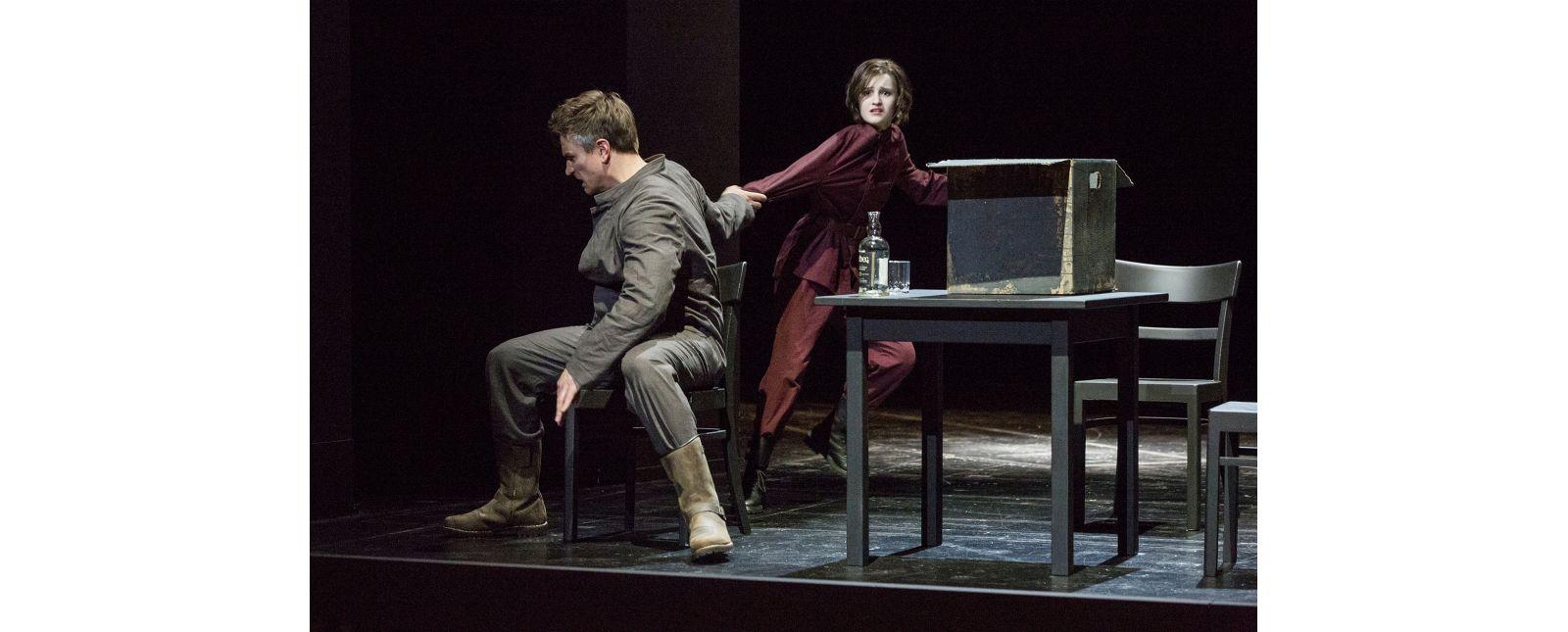 Pelléas et Mélisande // Georg Festl // Katharina Bierweiler //  2019 // Foto: Rainer Muranyi