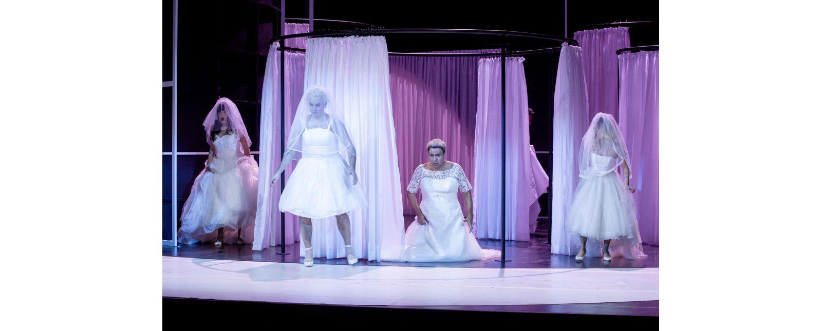 Die Hochzeit des Figaro // Sarah Traubel / Michael Borth / Juan Orozco / Katharina Ruckgaber // 2020 // Rainer Muranyi